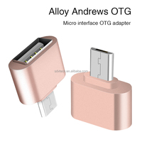Sindvor USB adapter Micro USB To OTG Adapter for Samsung Android Tablet