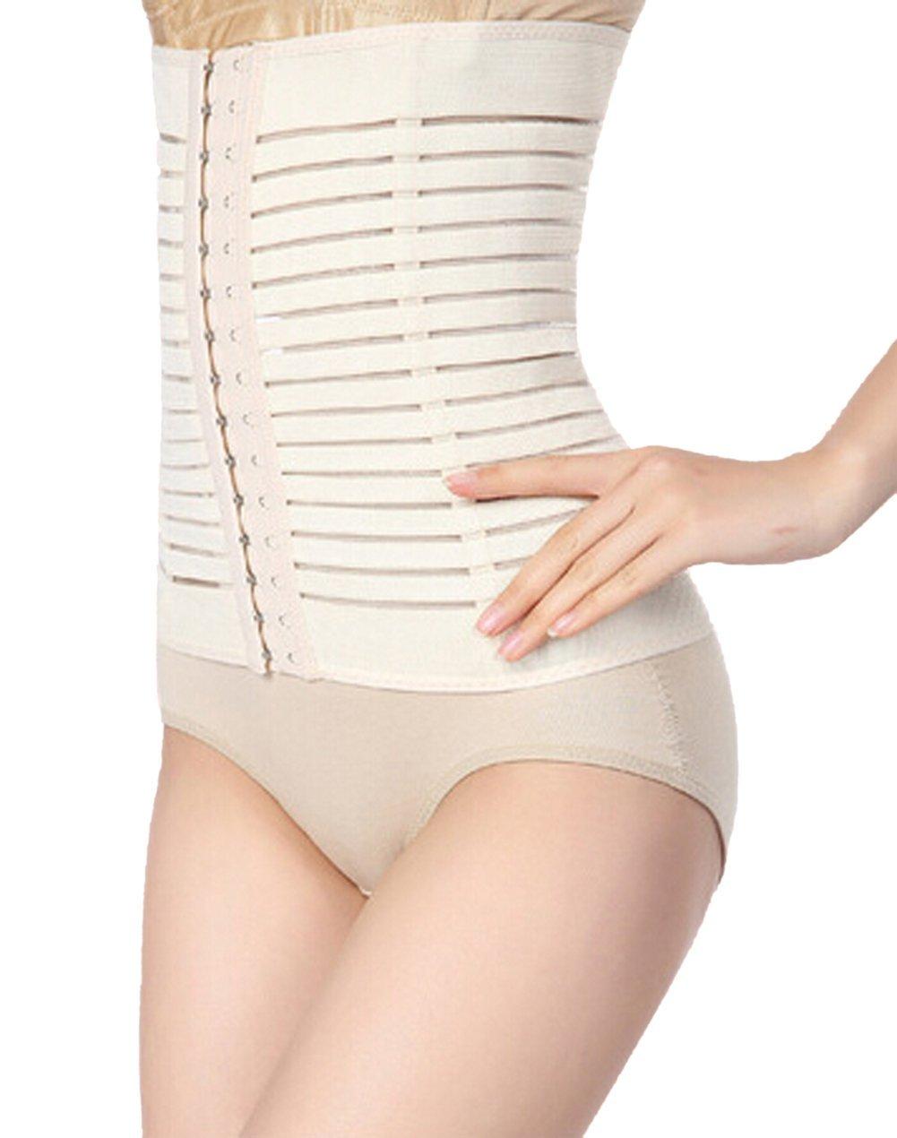 fc3ef85f4c14f ieasysexy Hot Postpartum Tummy Waist Slimming Belt Abdomen Belt Waist Belt  Great for Puerperal Burning Fat