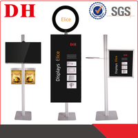 retail wall mounted advertising display systems