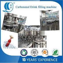 Automatic Soft drink or Carbonated Drink Filling line