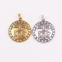 P331 Huilin Jewelry Fashion Retro Antique Silver/Gold Plated Mystical Figure of Solomon Talisman Pendant