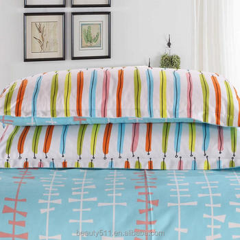 Lovely 100% Cotton Bed Sheets Manufacturers In China Wholesale Beds Sheetings Sets  BS381