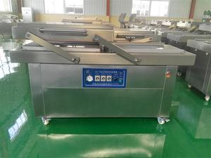 Brother DZ-500/2S external vacuum packaging machine with gas flush
