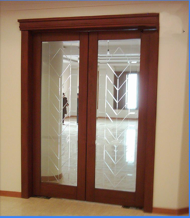 Good Half Glass Wooden Door, Half Glass Wooden Door Suppliers And Manufacturers  At Alibaba.com