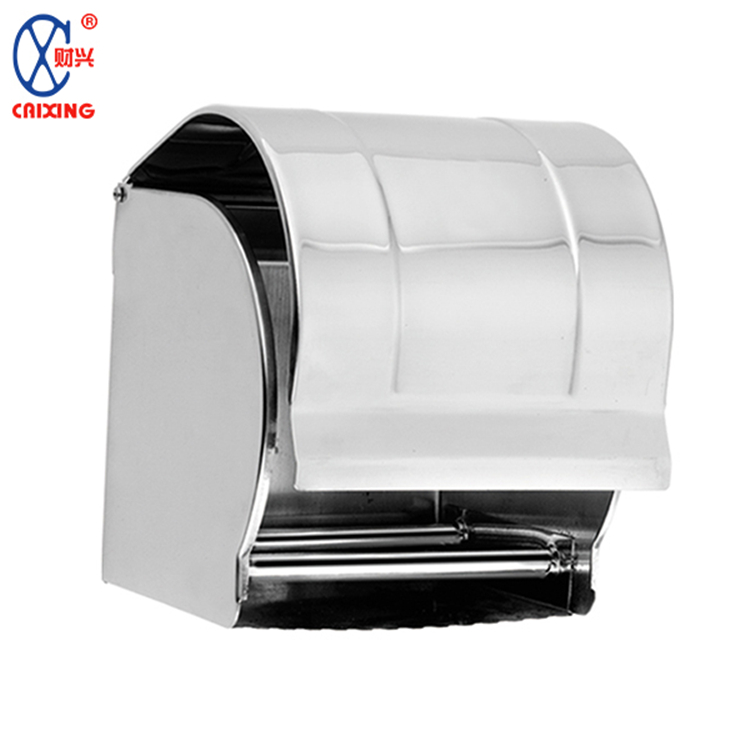 Home hotel wall mounted toilet holder auto cut paper towel dispenser