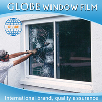 Burglary proof transparent bullet proof glass film durable security window film 3m