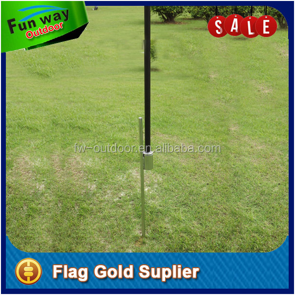 Metal Ground Spike for Swooper Pole