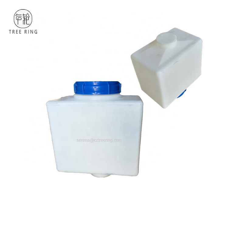 China Manufacturer Conical Bottom Square Plastic Small Reverse Osmosis <strong>Water</strong> <strong>Tank</strong> 20 Liter For Beer