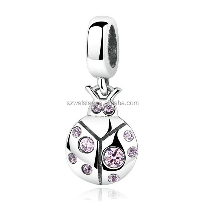 New Arrival Hot 925 Sterling Silver Beetle Pendant