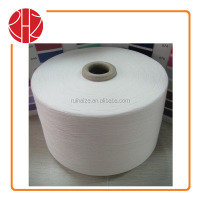 100% Polyester Circular Machine Spun Sock Knitting Yarn Snow White 18S-40S