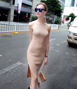 c6343d4ae3 or10617h Fashion design women sweater dress vest body fit dresses wholesale