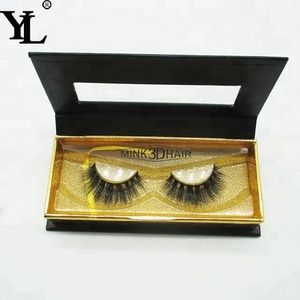 wholesale 100% real siberian mink fur false eyelashes 3d mink lashes