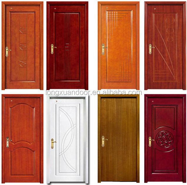 Modernos dise os de puerta de madera s lida puerta de for Puertas de madera para habitaciones