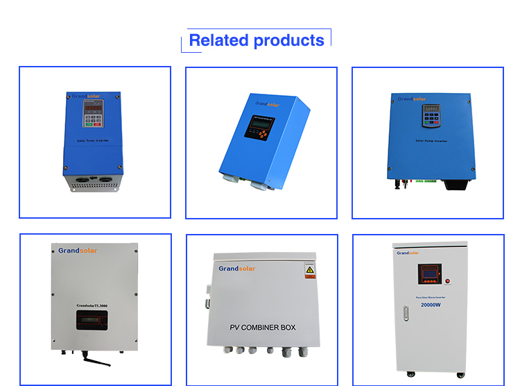 6KW 50/60HZ SINGLE THASE MPPT GRID TIE INVERTER