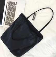Cheap PU Leather Top Open Hobo
