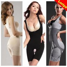 Sexy Mature Women S Curve Shaping Slimming Bamboo Body Shaper Suit