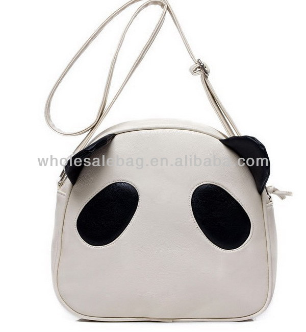 Leather Panda Sling Bag Wholesale Panda Cross Body Bag Messenger Bag For  Girls Women Ladies - Buy Cute Messenger Bags For Girls 34c47a5f28