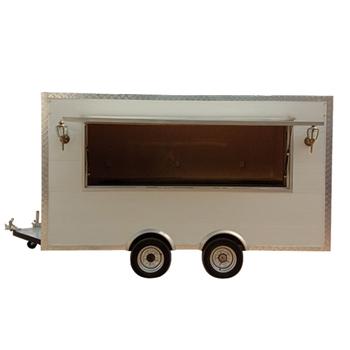 Churros Food Trailer Food Truck Refrigerator Freezer Food