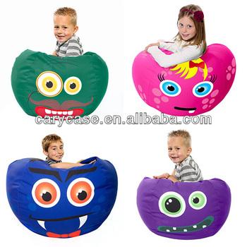 owl design children bean bag chair junior cozy beanbag seat cushion