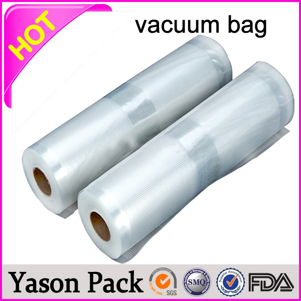 breathable plastic vacuum bags for food packing