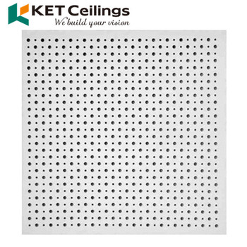 High Strength Acoustic Perforated Gypsum Board Price In