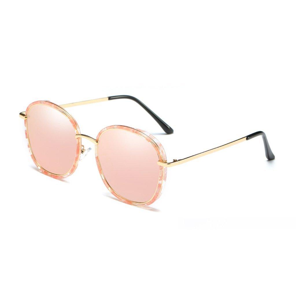 ab3b4ba2ce5 Get Quotations · LIZHIQIANG Sunglasses Female Tide Retro Polarized  Sunglasses Round Face Glasses Sun Visor Mirror Mirror Mirror (