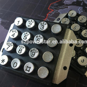 Popular design Matrix Telephone keypad PCB Public Coin box keypad