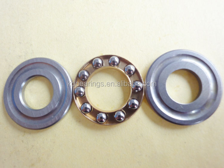 china manufacture miniature thrust ball bearing F4-10 M