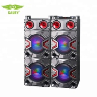 China speaker manufacturer 2.0 active speaker stereo sound with color lights