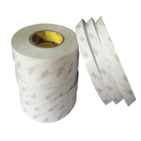 New 50M 3M 9080 Doubled Sided Tape Adhesive White 10mm Width for All Phone LCD Repair &Led Strip