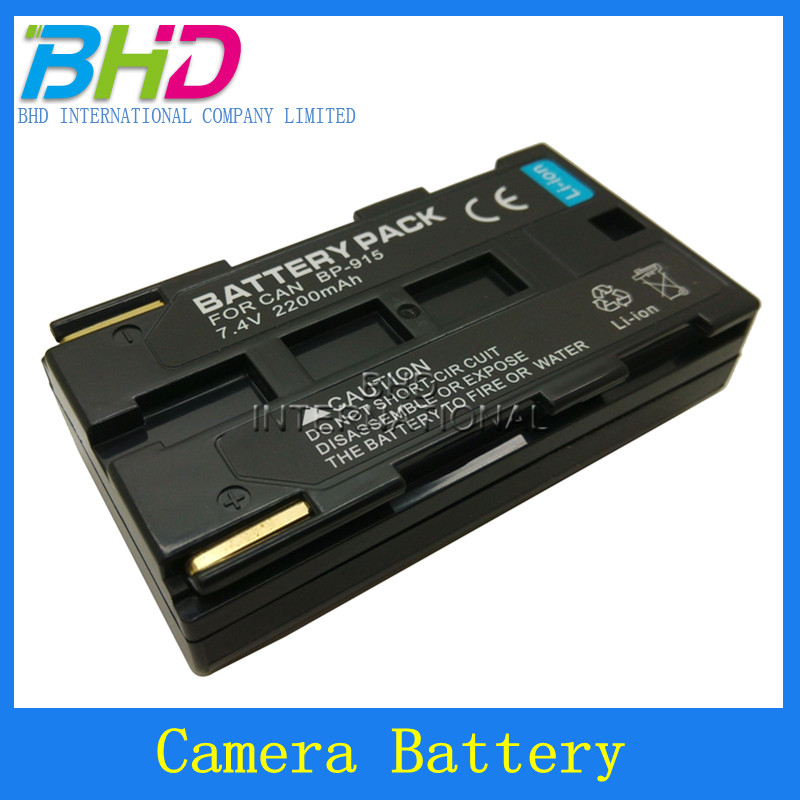 digital video camera batteries for canon BP-911/914/915 batteries