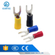 insulated sleeve fork type terminal,double spade connector,heat shrink tube terminal SV5.5-5