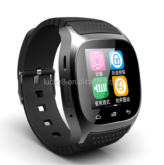 M26 Series Bluetooth 4.0 Pedometer Smart Watch Wristwatch with Hands Free Calls and Facebook,Twitter Message