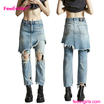 latest ladies jeans top design girls wholesale price