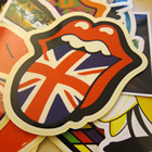 custom die cut stickers and adhesive sticker printing service