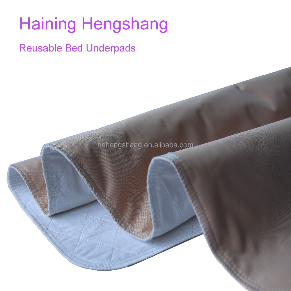 personal care adult washable incontinence bed pads
