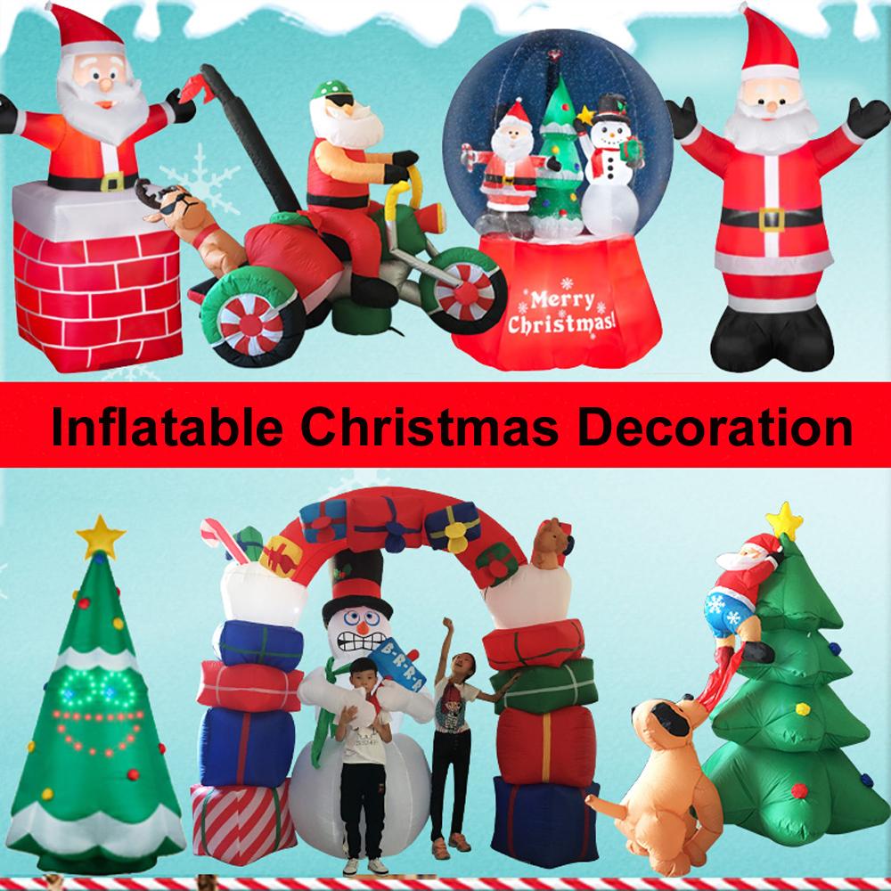 12ft Santa Hot Air Balloon Inflatable