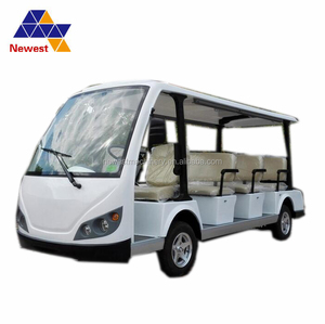 Large climbing ability electric sightseeing coach tourist vehicle