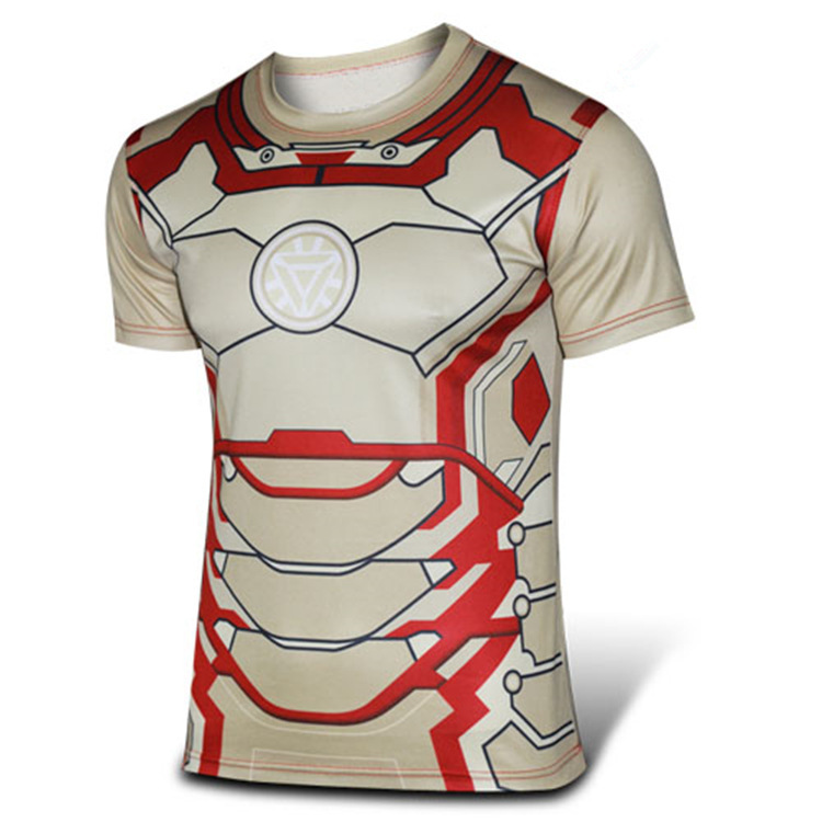 Get Quotations · Qualified Iron men short sleeve cycle jerseys quick dry  breathable sport t shirt superman jerseys good 6811c2a10