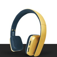 On Ear Over Head Bluetooth Headphones Wireless / Cordless Headset with FM Radio, MicroSD / TF Card and Mic headsets earphone