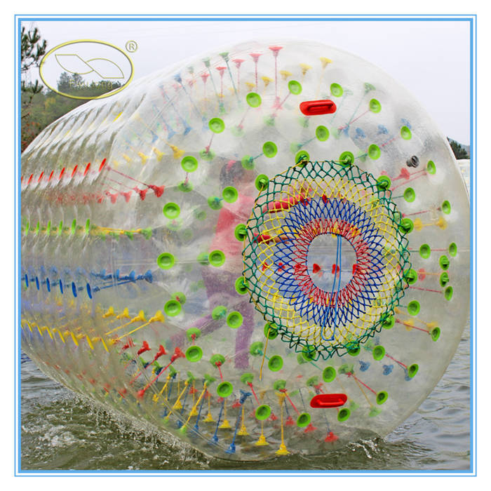 Discount and popular Sunmmer Water games hamster ball oyna /aqua zorbing ball for sale