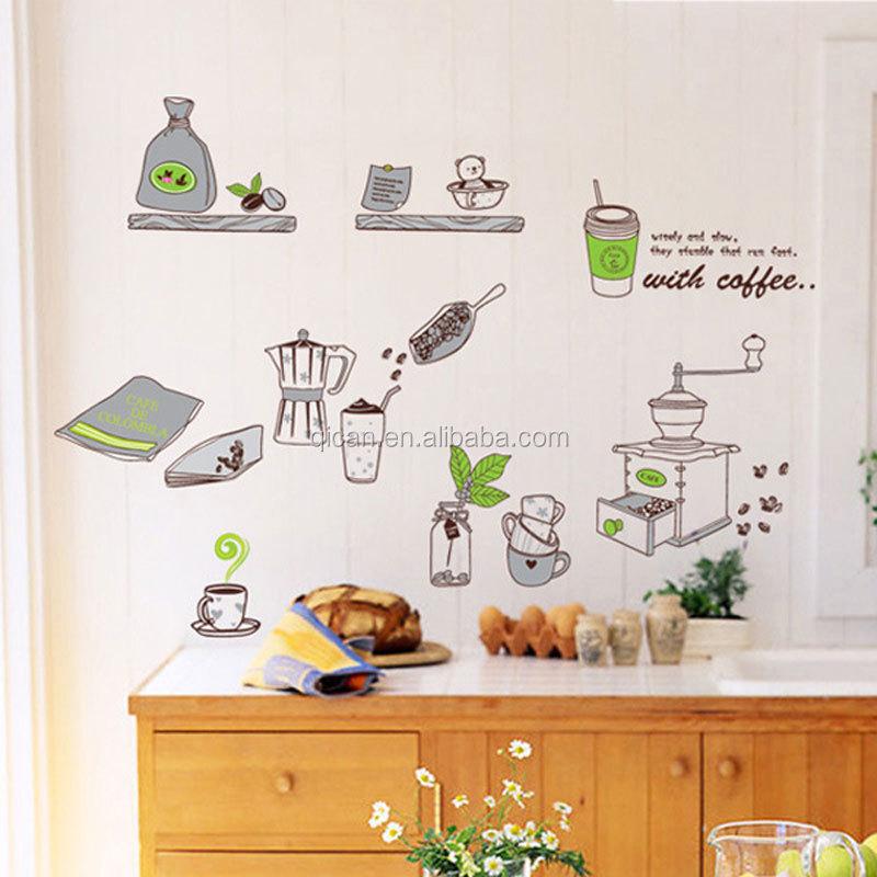 Wholesale tile decorator online buy best tile decorator for Cartoon kitchen cabinets
