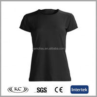 2017 cheap price fashion sale online sportswear jogging moisture wicking plain black cheap custom nylon t shirts