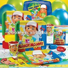 kids themes party supplies/party sets products