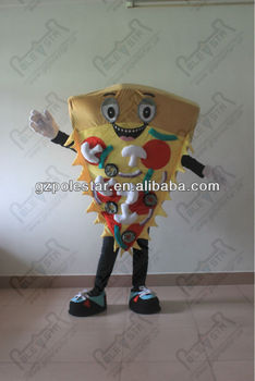 NO.2563 pizza costumes character lovely pizza mascot costumes