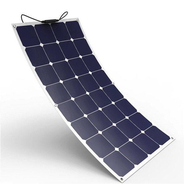 Monocrystalline Silicon Material And -- Size Semi Flexible Solar <strong>Panel</strong> 70w