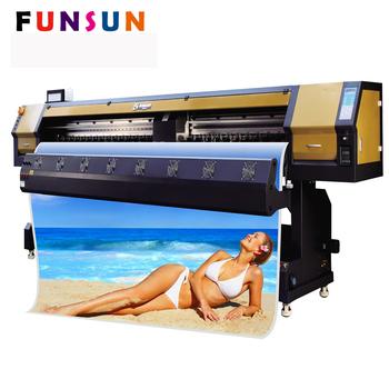 Funsunjet Fs-3202g 3 2m 10ft Main Top Photo Print Rip Software Printer For  Banner Sticker - Buy Maintop/photoprint Rip Software Printer,3 2m