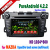 Touch screen car dvd gps for mazda cx-7 with bluetooth wifi 3G tv radio ipod iphone connection