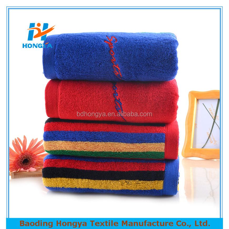 La Fitness With Towel Service: 100% Algodón Personalizada De Gimnasia/deportes/gimnasio