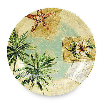 Printing Melamine Tar Hong Iles Palm 10-Inch Dinner Plate  sc 1 st  Alibaba : dinner plate printing - pezcame.com